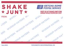 Shake Junt - Postal Decal Single