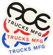 "Ace - Standard Logo 3"" Sticker Assorted 1pc"
