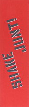Shake Junt - Single Sheet Colored Grip 9x33 Red/blk/wht