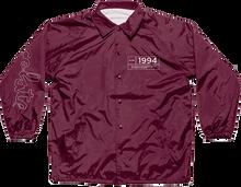 Chocolate - Inaugural Coach Jacket M-burgundy