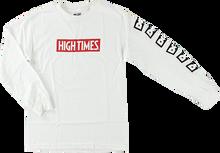 Dgk - High Times Lock Up L/s S-white