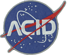 Acid - Space Patch Navy 3""