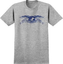 Anti Hero - Basic Eagle Ss M-athletic Heather/blue