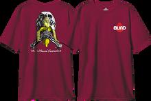 Blind - Gonz Skull & Banana Ss S-vintage Burgundy
