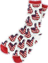 Bro Style - Style Usa Crew Socks White 1pr