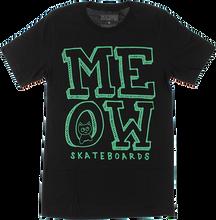 Meow - Stacked Logo Ss Xl-black