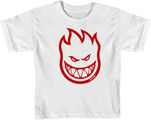 Spitfire - Bighead Toddler-ss 3t Wht/red