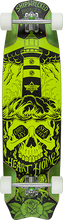 Duster - Bones Complete-9.5x37.9 Green - Complete Skateboard