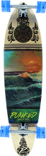 Punked - Kicktail Complete-10x40 Wave Scene Ppp - Complete Skateboard