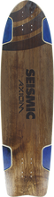 Seismic - Axiom Deck-9.75x36.25 Nat/blu - Longboard