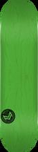 Mini Logo - Deck 181/k-15 -8.5 Chevron Stamp Grn Ppp - Skateboard Deck