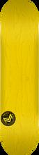 Mini Logo - Deck 181/k-15 -8.5 Chevron Stamp Yel Ppp - Skateboard Deck
