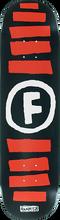 Foundation - Doodle Stripe Deck-8.0 Blk/red/wht Ppp - Skateboard Deck