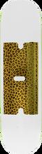 Real - Busenitz Furry Fun Deck-8.06 White/gold - Skateboard Deck