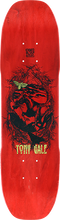 Moonshine - Gale Horse Deck-7.3x28 Red Stain - Skateboard Deck