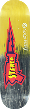 Stereo - Raygun 4000 Deck-8.0 Blk/yel Fade - Skateboard Deck