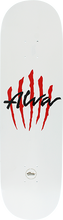 Alva - Scratch Logo-8.5 White - Skateboard Deck