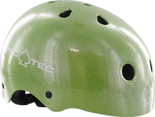 Pro Tec - (cpsc)classic Grn Flake-s Helmet