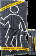 Girl - Chill Scene Towel Black