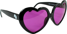 Happy Hour - Hour Heart Ons Blk Sunglasses