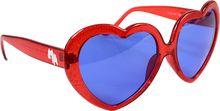 Happy Hour - Hour Heart Ons Red Sunglasses