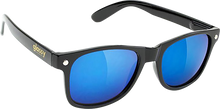 Glassy Sunhaters - Leonard Blk/blk/blu Mirror Sunglasses