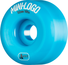 Mini Logo - Logo A-cut 52mm 101a Blue Ppp (Skateboard Wheels - Set of 4)