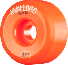 Mini Logo - A-cut Hybrid 55mm 90a Orange Ppp (Skateboard Wheels - Set of 4)