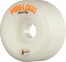 Mini Logo - A-cut Hybrid 55mm 90a White Ppp (Skateboard Wheels - Set of 4)
