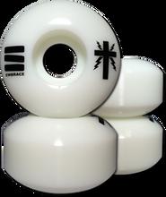 Embrace - Cross 51mm 100a Wht/blk Ppp (Skateboard Wheels - Set of 4)