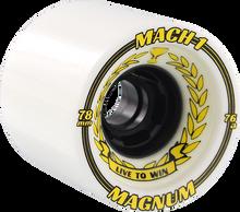 Venom - Mach-1 78mm 76a Wht/blk (Skateboard Wheels - Set of 4)