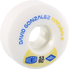 Ricta - Gonzalez Naturals Ii 53mm 99a White (Skateboard Wheels - Set of 4)