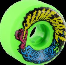 Santa Cruz - Slimeballs Vomits Mini 56mm 97a Neon Green (Skateboard Wheels - Set of 4)