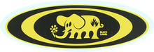 Black Label - Oval Elephant Decal Single Asst.