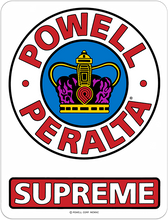 "Powell Peralta - Supreme Og 3.5"" Decal Single"