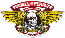 "Powell Peralta - Winged Ripper Die-cut 5"" Red Decal"