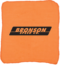 Bronson Speed Co - Shop Rag Orange