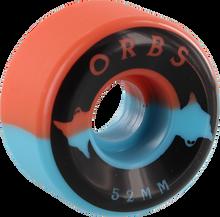 Orbs - Specters 52mm 99a  Blue/coral W/black - Skateboard Wheels (Set of Four)