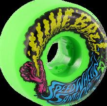 Santa Cruz - Slimeballs Vomits Mini 54mm 97a Neon Green - Skateboard Wheels (Set of Four)