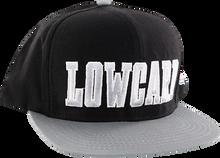Lowcard - East Bay Hat Adj-blk/grey/sil