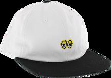 Krooked - Eyes Emblem 6p Hat Adj-white