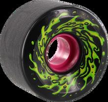 Santa Cruz - Slimeballs Og Slime 60mm 78a Black/glow - Skateboard Wheels (Set of Four)