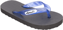 "Locals - Original Slippa 6.5"" Blk/trans.blue"