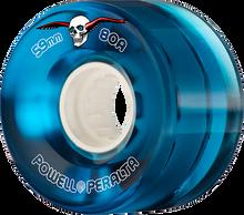 Powell Peralta - Clear Cruiser 59mm 80a Blue - Skateboard Wheels (Set of Four)