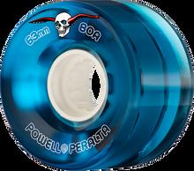 Powell Peralta - Clear Cruiser 63mm 80a Blue - Skateboard Wheels (Set of Four)