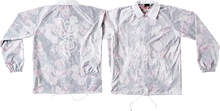 Real - Bloom Windbreaker S- Transparent Wht/floral