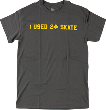 Lowcard - I Used 2 Skate Ss S-grey/gold - T-Shirt