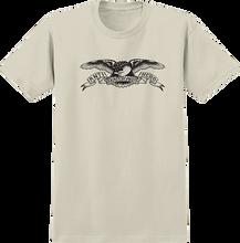 Anti Hero - Basic Eagle Ss S-cream/blk - T-Shirt