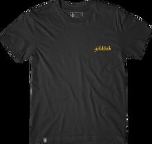 Girl - Films Goldfish Embroidered Ss M-black - T-Shirt