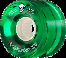 Powell Peralta - Clear Cruiser 66mm 80a Green - Skateboard Wheels (Set of Four)